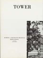 Page 6, 1961 Edition, Rumson Fair Haven Regional High School - Tower Yearbook (Rumson, NJ) online yearbook collection