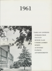 Page 7, 1961 Edition, Rumson Fair Haven Regional High School - Tower Yearbook (Rumson, NJ) online yearbook collection