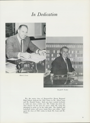 Page 9, 1961 Edition, Rumson Fair Haven Regional High School - Tower Yearbook (Rumson, NJ) online yearbook collection