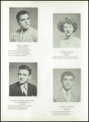 Page 14, 1951 Edition, Hawthorne High School - Ursidae Yearbook (Hawthorne, NJ) online yearbook collection