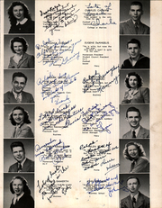 Page 17, 1946 Edition, Bergenfield High school - Cross Roads Yearbook (Bergenfield, NJ) online yearbook collection