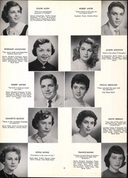 Page 14, 1956 Edition, Bergenfield High school - Cross Roads Yearbook (Bergenfield, NJ) online yearbook collection