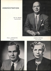 Page 9, 1956 Edition, Bergenfield High school - Cross Roads Yearbook (Bergenfield, NJ) online yearbook collection