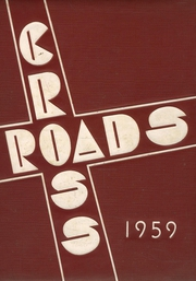 1959 Edition, Bergenfield High school - Cross Roads Yearbook (Bergenfield, NJ)