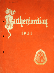 Rutherford High School - Rutherfordian Yearbook (Rutherford, NJ) online yearbook collection, 1931 Edition, Page 1