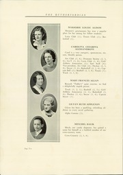 Page 14, 1932 Edition, Rutherford High School - Rutherfordian Yearbook (Rutherford, NJ) online yearbook collection