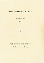 Page 5, 1932 Edition, Rutherford High School - Rutherfordian Yearbook (Rutherford, NJ) online yearbook collection