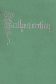 Rutherford High School - Rutherfordian Yearbook (Rutherford, NJ) online yearbook collection, 1933 Edition, Page 1