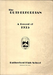 Page 7, 1935 Edition, Rutherford High School - Rutherfordian Yearbook (Rutherford, NJ) online yearbook collection