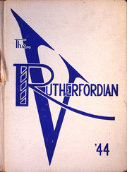 1944 Edition, Rutherford High School - Rutherfordian Yearbook (Rutherford, NJ)