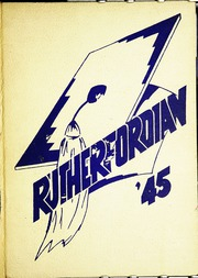1945 Edition, Rutherford High School - Rutherfordian Yearbook (Rutherford, NJ)