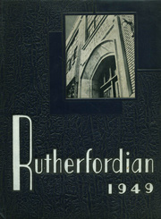 1949 Edition, Rutherford High School - Rutherfordian Yearbook (Rutherford, NJ)