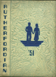 1951 Edition, Rutherford High School - Rutherfordian Yearbook (Rutherford, NJ)