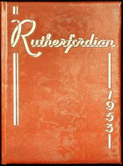 1953 Edition, Rutherford High School - Rutherfordian Yearbook (Rutherford, NJ)