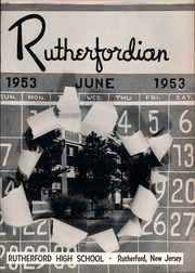 Page 5, 1953 Edition, Rutherford High School - Rutherfordian Yearbook (Rutherford, NJ) online yearbook collection