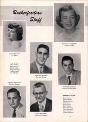 Page 8, 1953 Edition, Rutherford High School - Rutherfordian Yearbook (Rutherford, NJ) online yearbook collection