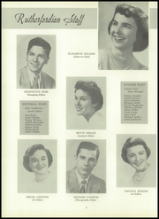 Page 8, 1954 Edition, Rutherford High School - Rutherfordian Yearbook (Rutherford, NJ) online yearbook collection