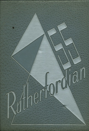 1955 Edition, Rutherford High School - Rutherfordian Yearbook (Rutherford, NJ)