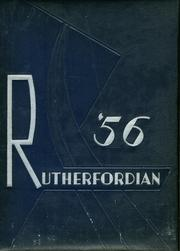 1956 Edition, Rutherford High School - Rutherfordian Yearbook (Rutherford, NJ)
