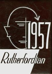 1957 Edition, Rutherford High School - Rutherfordian Yearbook (Rutherford, NJ)