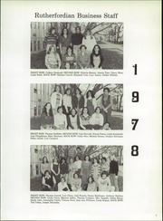 Page 13, 1978 Edition, Rutherford High School - Rutherfordian Yearbook (Rutherford, NJ) online yearbook collection