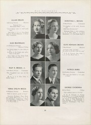 Page 14, 1935 Edition, Hillside High School - Epoch Yearbook (Hillside, NJ) online yearbook collection