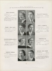 Page 16, 1935 Edition, Hillside High School - Epoch Yearbook (Hillside, NJ) online yearbook collection