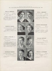 Page 17, 1935 Edition, Hillside High School - Epoch Yearbook (Hillside, NJ) online yearbook collection
