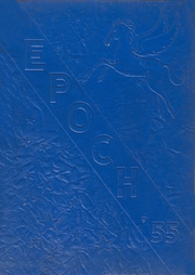 1955 Edition, Hillside High School - Epoch Yearbook (Hillside, NJ)