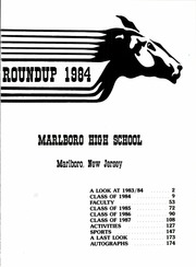 Page 5, 1984 Edition, Marlboro High School - Roundup Yearbook (Marlboro, NJ) online yearbook collection