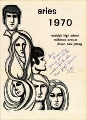 Page 5, 1970 Edition, Randolph High School - Aries Yearbook (Randolph, NJ) online yearbook collection