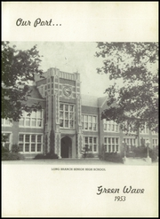 Page 7, 1953 Edition, Long Branch High School - Green Wave Yearbook (Long Branch, NJ) online yearbook collection