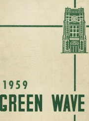 1959 Edition, Long Branch High School - Green Wave Yearbook (Long Branch, NJ)