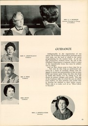 Page 17, 1960 Edition, Long Branch High School - Green Wave Yearbook (Long Branch, NJ) online yearbook collection
