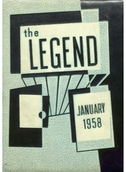 1958 Edition, Weequahic High School - Legend Yearbook (Newark, NJ)