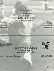 Page 217, 1986 Edition, Kingsway Regional High School - Lancer Yearbook (Swedesboro, NJ) online yearbook collection