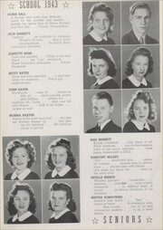 Page 17, 1943 Edition, Butler High School - Nugget Yearbook (Butler, NJ) online yearbook collection