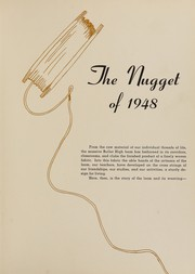 Page 5, 1948 Edition, Butler High School - Nugget Yearbook (Butler, NJ) online yearbook collection