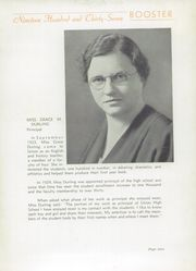 Page 11, 1937 Edition, Union High School - Booster Yearbook (Union, NJ) online yearbook collection