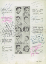 Page 17, 1949 Edition, Union High School - Booster Yearbook (Union, NJ) online yearbook collection