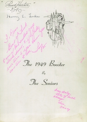 Page 7, 1949 Edition, Union High School - Booster Yearbook (Union, NJ) online yearbook collection