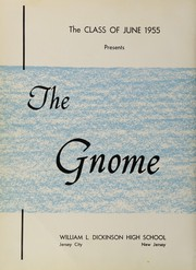 Page 6, 1955 Edition, Dickinson High School - Gnome Yearbook (Jersey City, NJ) online yearbook collection