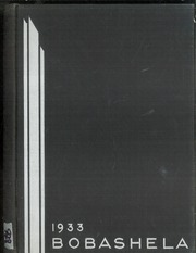1933 Edition, Trenton Central High School - Bobashela Yearbook (Trenton, NJ)