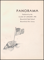 Page 5, 1943 Edition, Bloomfield High School - Memories Yearbook (Bloomfield, NJ) online yearbook collection