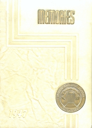 1947 Edition, Bloomfield High School - Memories Yearbook (Bloomfield, NJ)