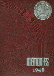 Bloomfield High School - Memories Yearbook (Bloomfield, NJ) online yearbook collection, 1948 Edition, Page 1