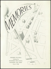 Page 5, 1948 Edition, Bloomfield High School - Memories Yearbook (Bloomfield, NJ) online yearbook collection
