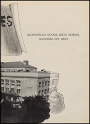 Page 7, 1952 Edition, Bloomfield High School - Memories Yearbook (Bloomfield, NJ) online yearbook collection