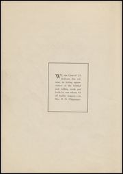 Page 8, 1923 Edition, Vineland High School - Record Yearbook (Vineland, NJ) online yearbook collection