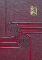 Vineland High School - Record Yearbook (Vineland, NJ) online yearbook collection, 1939 Edition, Page 1